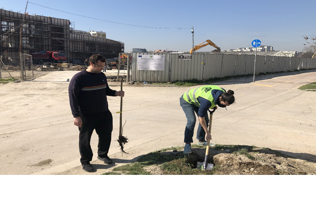 CPSBB and Trakia Municipality started the Green Initiative, 05 March 2021